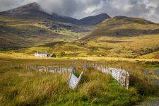 Farm auf der Isle of Mull in Schottland