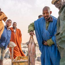 Fischer im Banq DArguin Nationalpark