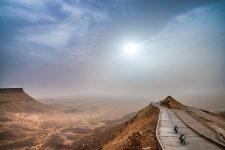 Gebirgspass zwischen Choum und Atar in Mauretanien
