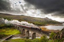 Jacobite Steam Train in Schottland