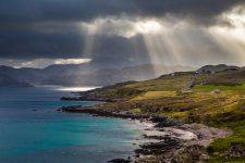 Morgendliche Lichtstimmung an der Second Coast Schottland